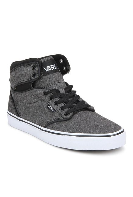 Buy Vans Active Atwood Hi Dark Grey Ankle High Sneakers for Men at Best  Price   Tata CLiQ 113ecebf7