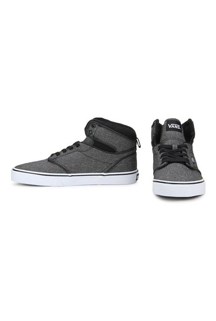 d94d67657b92ab Buy Vans Active Atwood Hi Dark Grey Ankle High Sneakers for Men at ...