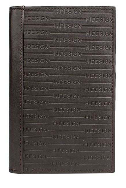 Hidesign 263-031F (RFID) Dark Brown Embossed Bi-Fold Wallet