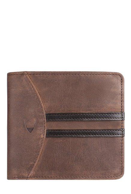 Hidesign 292-017 (RFID) Dark Brown & Black Paneled Wallet