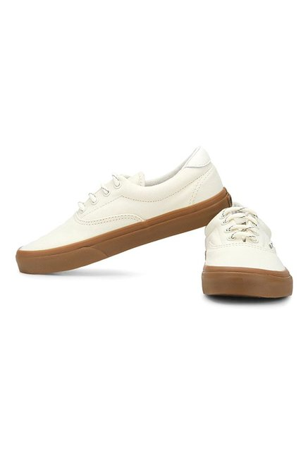 be370d15a4261a Buy Vans Classics Era 59 Off-White   Gum Sneakers for Men at Best ...