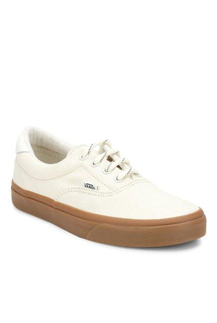 6f491906110 Buy Vans Classics Era 59 Off-White   Gum Sneakers for Men at Best ...