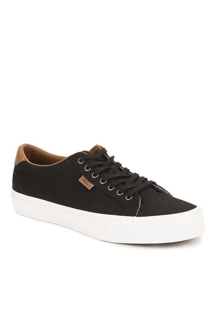 67a6f459d2 Buy Vans Classics Court Black   True White Sneakers for Men at Best Price    Tata CLiQ