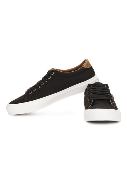 2f0114a4331f Buy Vans Classics Court Black   True White Sneakers for Men at Best ...