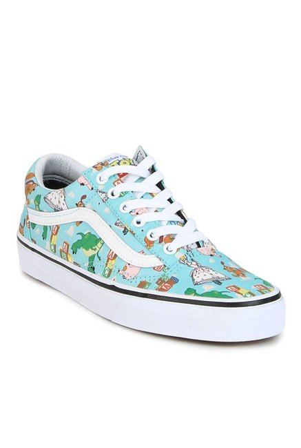 Buy Vans Old Skool Toy Story Andy s Toys Blue Tint Sneakers for ... d0b37f07f
