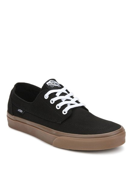 d635bb454943 Buy Vans Classics Brigata Black   Gum Sneakers for Men at Best Price   Tata  CLiQ
