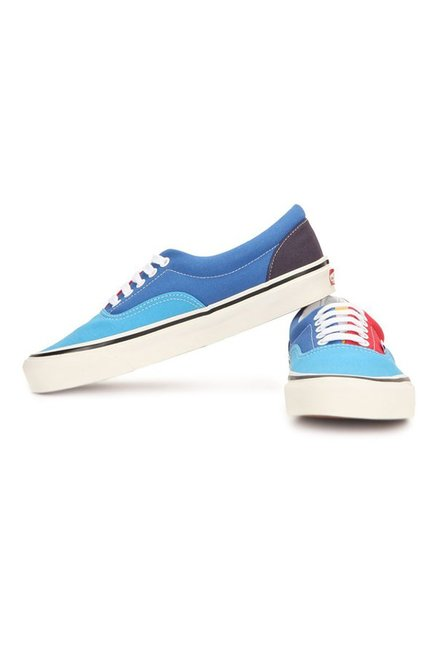 6e6647c20a Buy Vans Classics Era 95 Reissue Sky Blue   Red Sneakers for Men at ...