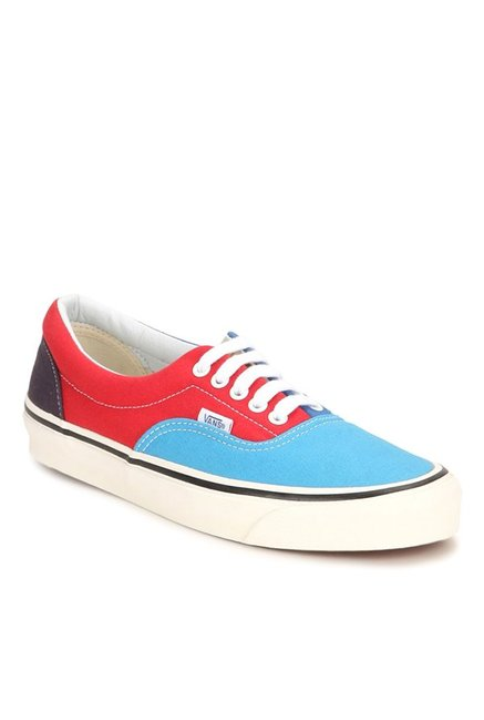 29f3b45f59 Buy Vans Classics Era 95 Reissue Sky Blue   Red Sneakers for Men at Best  Price   Tata CLiQ