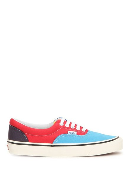 682a3dad0f Buy Vans Classics Era 95 Reissue Sky Blue   Red Sneakers for Men at ...