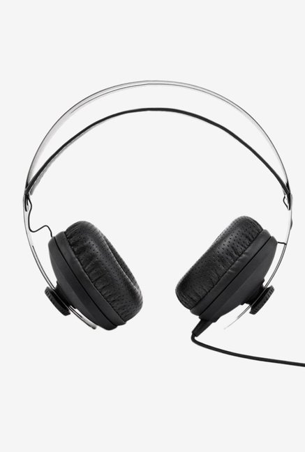 Boat BassHeads 800 Headphones with Mic (Black)