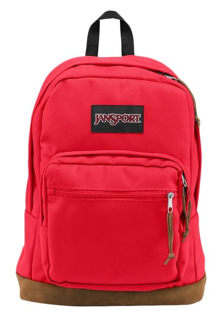 JanSport Right Pack High Risk Red Unisex Laptop Backpack