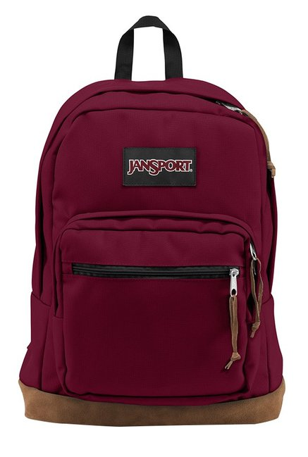 JanSport Right Pack Russet Red Unisex Laptop Backpack