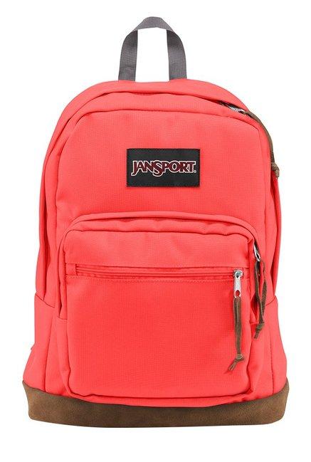 JanSport Right Pack Tahitian Orange Unisex Laptop Backpack