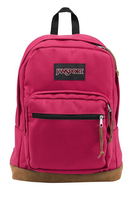 JanSport Right Pack Cerise Unisex Laptop Backpack