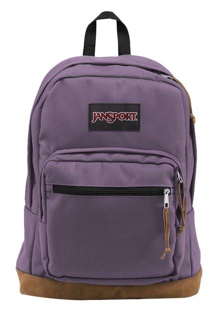 JanSport Right Pack Purple Frost Unisex Laptop Backpack