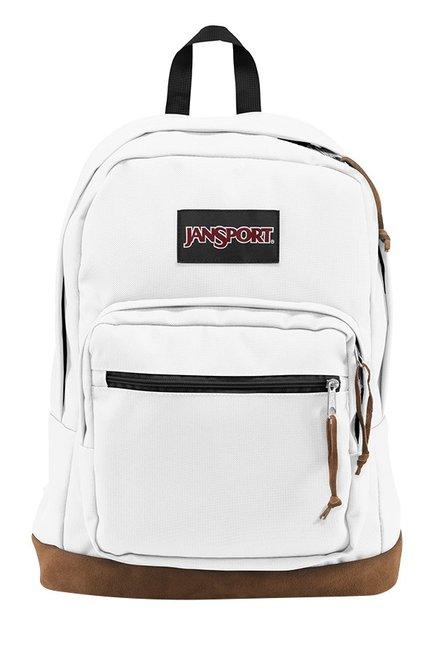 JanSport Right Pack White Unisex Laptop Backpack