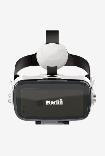 Merlin Immersive 3D VR PRO with Headphone  Cinema Edition