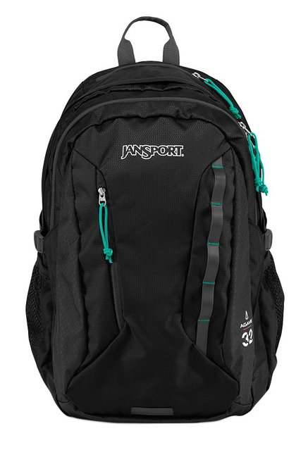 JanSport Women'S Agave Black Unisex Laptop Backpack