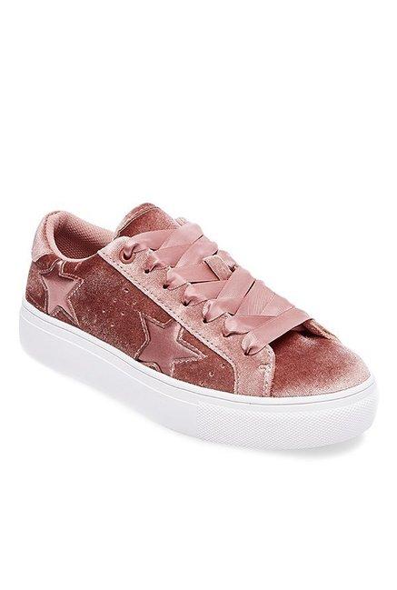 cd8ea913283 Buy Steve Madden Starstrk Blush Pink Sneakers for Women at Best Price    Tata CLiQ