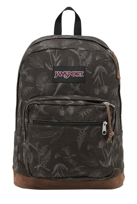 JanSport Pack Expressions Botanic Black Unisex Backpack
