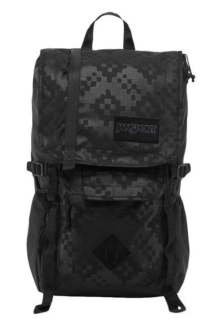 JanSport Hatchet Spec Ed Black Embossed Unisex Backpack