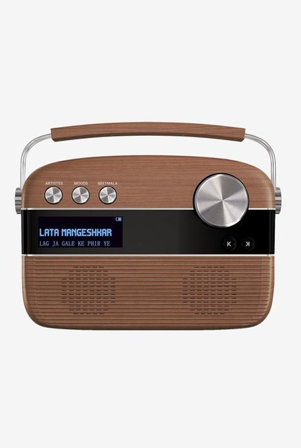Saregama Carvaan Digital Audio Player (Oak Wood Brown)