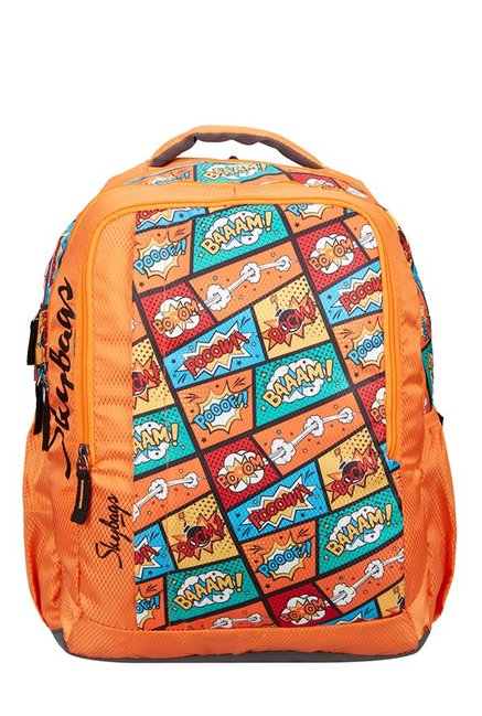 Skybags Footloose Helix 30 Ltr Orange Medium Backpack