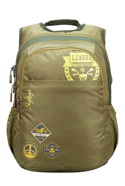 Skybags Footloose Blitz 04 Olive Green Laptop Backpack