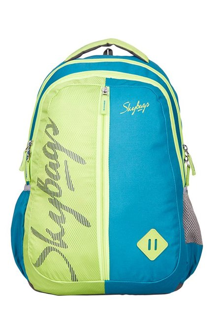 Buy Skybags Footloose Leo 6 Green   Teal Blue Backpack For Men At Best  Price   Tata CLiQ de00558872