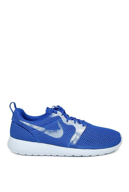 new styles cf169 ee3a0 Buy Nike Roshe One Hyp BR GPX Blue & Silver Running Shoes ...