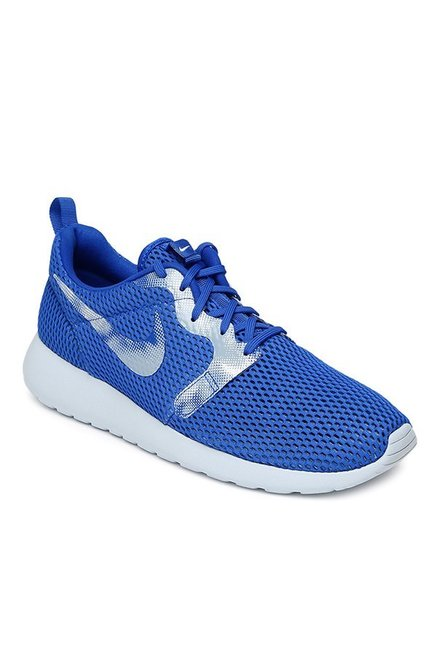 2aa515c58d7f Buy Nike Roshe One Hyp BR GPX Blue   Silver Running Shoes for Men at Best  Price   Tata CLiQ