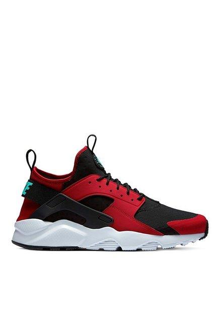 free shipping 8262d 8a4ec Nike Air Huarache Run Ultra Red   Black Running Shoes