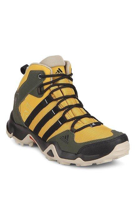 comprare adidas ax2 giallo & nero scarpe da trekking per uomini al miglior prezzo