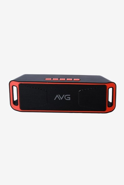 AVG F5 10 W Bluetooth Speaker (Red)