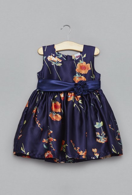 22a1a75e9773f Buy Baby HOP by Westside Navy Dress for Infant Girls Clothing Online @ Tata  CLiQ