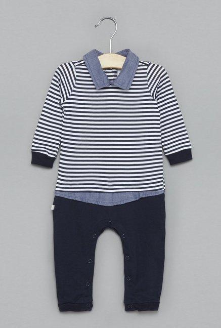 e14587cd3cc0 Buy Baby HOP by Westside Navy Romper for Infant Boys Clothing Online @ Tata  CLiQ