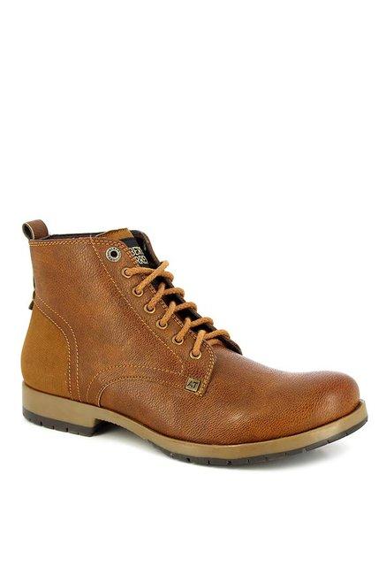 135a0387bbe Buy Alberto Torresi Mermat Tan Derby Boots for Men at Best Price ...