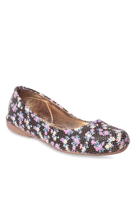 Lishabee by MSC Black & Pink Flat Ballets