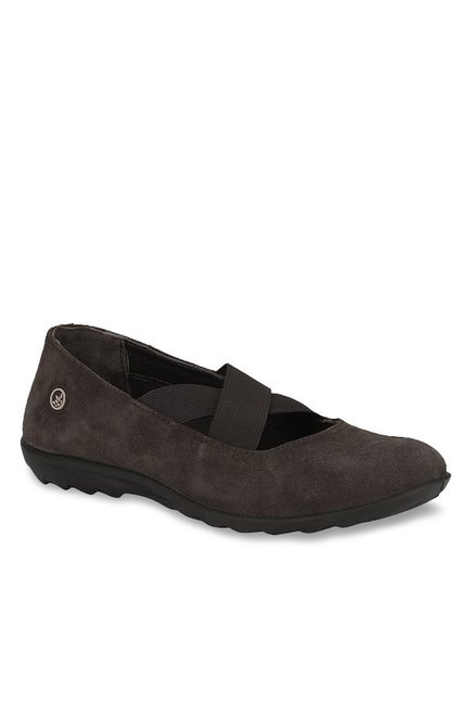 Woodland Dark Brown Mary Jane Shoes