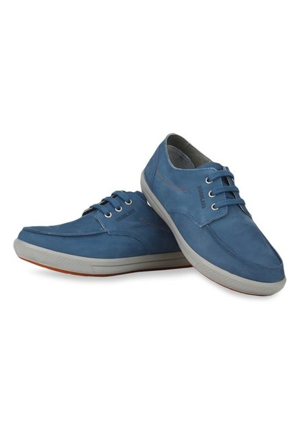 Woodland Blue Derby Shoes