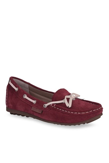 Woodland Ox-Blood Boat Shoes from