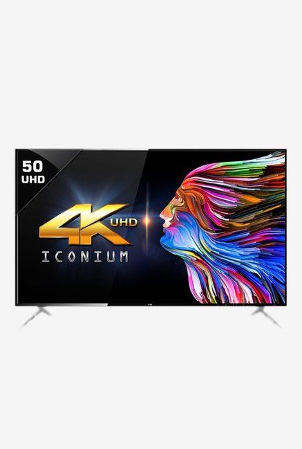 Vu 50 Inches Ultra HD (4K) LED Smart TV (50BU116, Black)