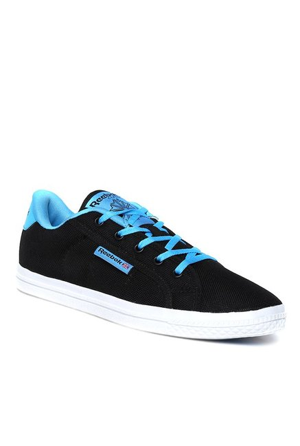 7d0db05ed6c1 Buy Reebok On Court LV LP Black   Blue Sneakers for Women at ...