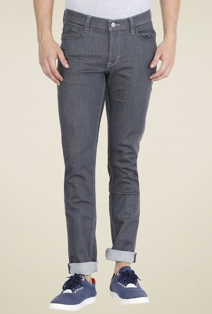 414440b2 Buy Lee Grey Skinny Fit Jeans for Men Online @ Tata CLiQ
