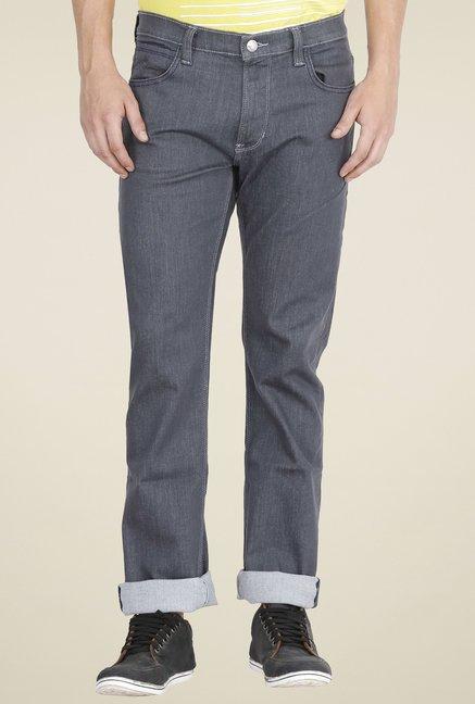 38b3e77e Buy Lee Grey Slim Fit Jeans for Men Online @ Tata CLiQ