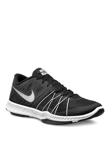low priced 14bc4 393c1 Buy Nike Zoom Train Incredibly Fast Black   Grey Training Shoes for Men at  Best Price   Tata CLiQ