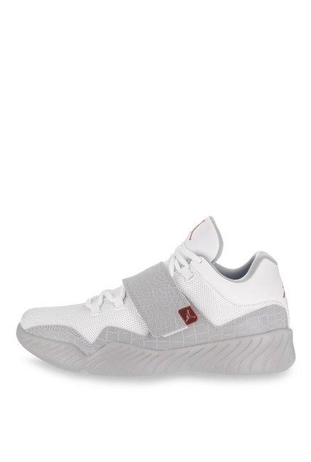 5f431a1f2d5 Buy Nike Air Jordan J23 White   Grey Basketball Shoes for Men at ...