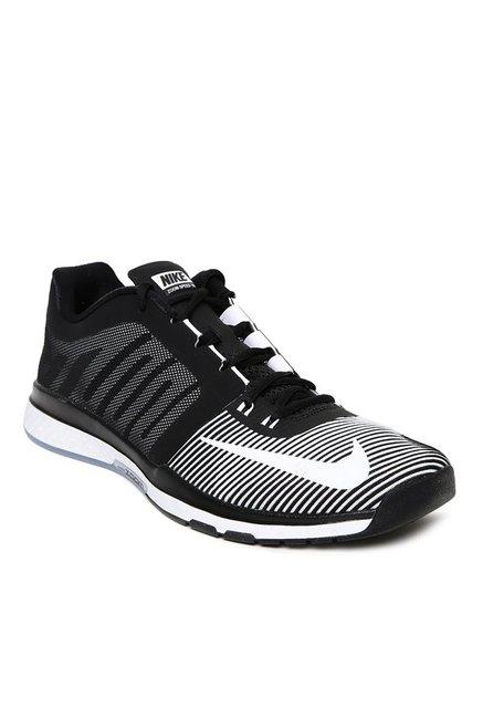 buy popular 05187 43e22 Buy Nike Zoom Speed TR 3 Black   White Training Shoes for Men at Best Price    Tata CLiQ