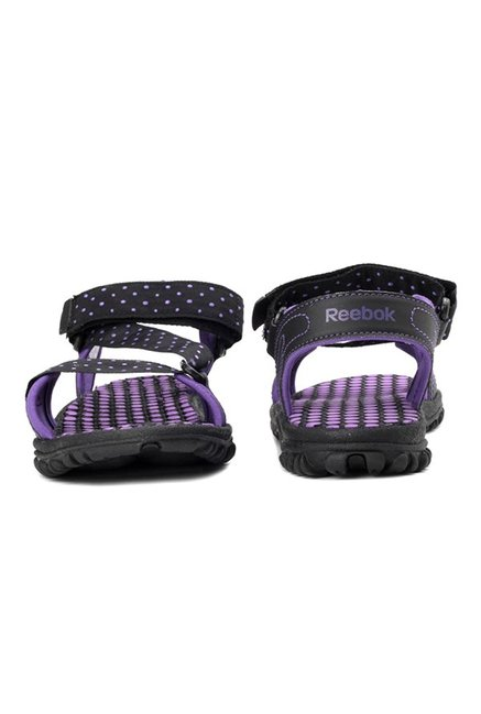 2389c8252494e2 Buy Reebok Black   Purple Floater Sandals for Women at Best Price ...