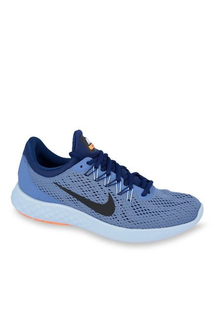 size 40 78c3e 936c3 Buy Nike Lunar Skyelux Blue Running Shoes for Men at Best Price   Tata CLiQ